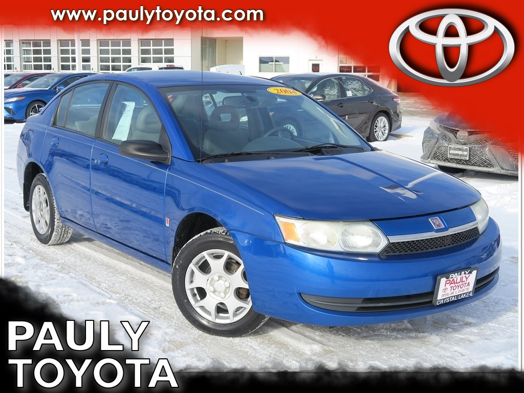 Saturn saturn 2004 : Pre-Owned 2004 Saturn ION 2 4D Sedan in Crystal Lake #28690B ...