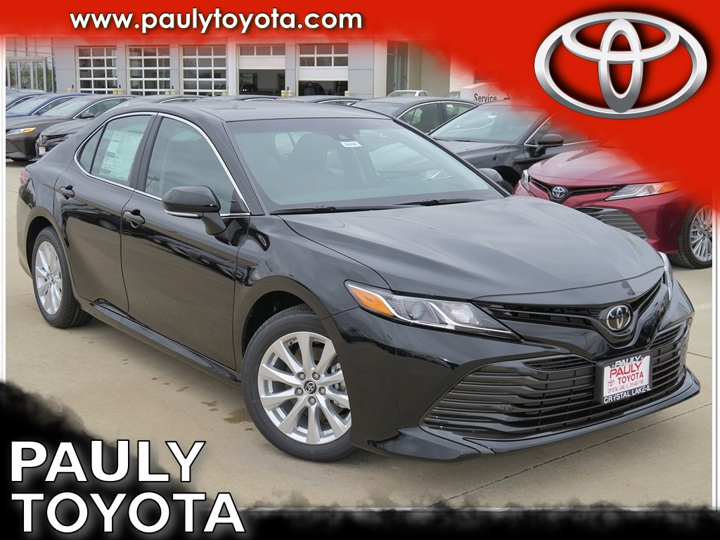 New 2018 Toyota Camry Le 4d Sedan In Crystal Lake 28755