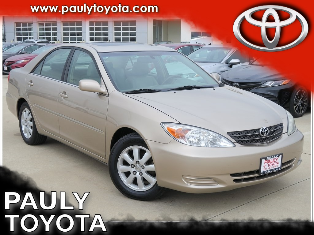 Pre Owned 2002 Toyota Camry Xle 4d Sedan In Crystal Lake