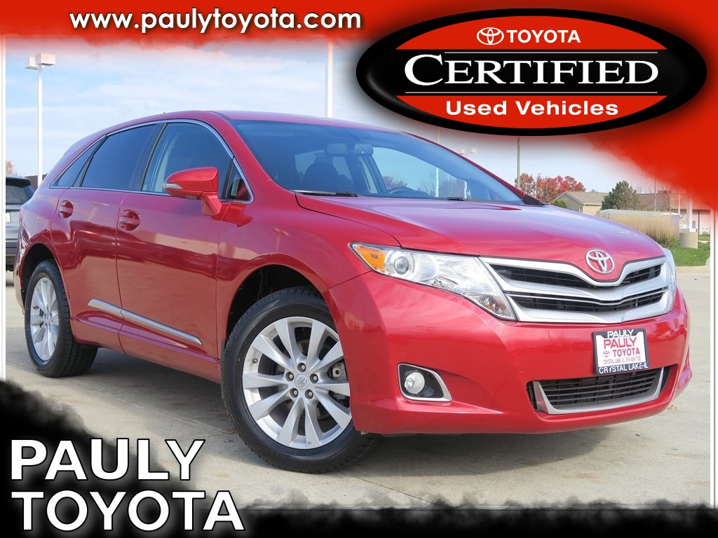 Certified Pre-Owned 2015 Toyota Venza LE