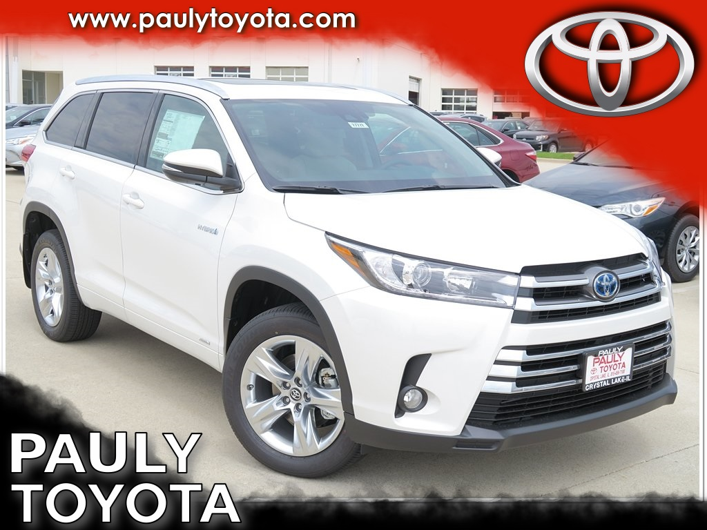 new 2017 toyota highlander hybrid limited 4d sport utility in crystal lake h27772 pauly toyota. Black Bedroom Furniture Sets. Home Design Ideas