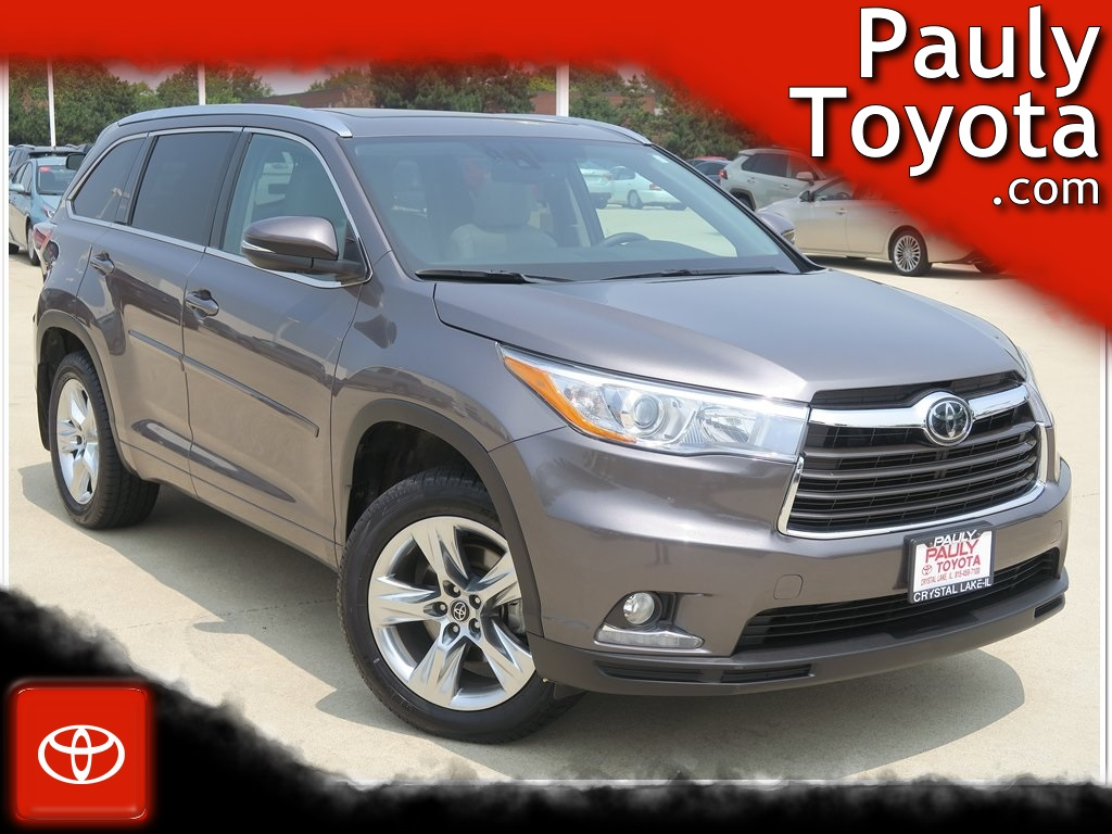 Toyota Highlander Limited >> Pre Owned 2016 Toyota Highlander Limited Platinum V6