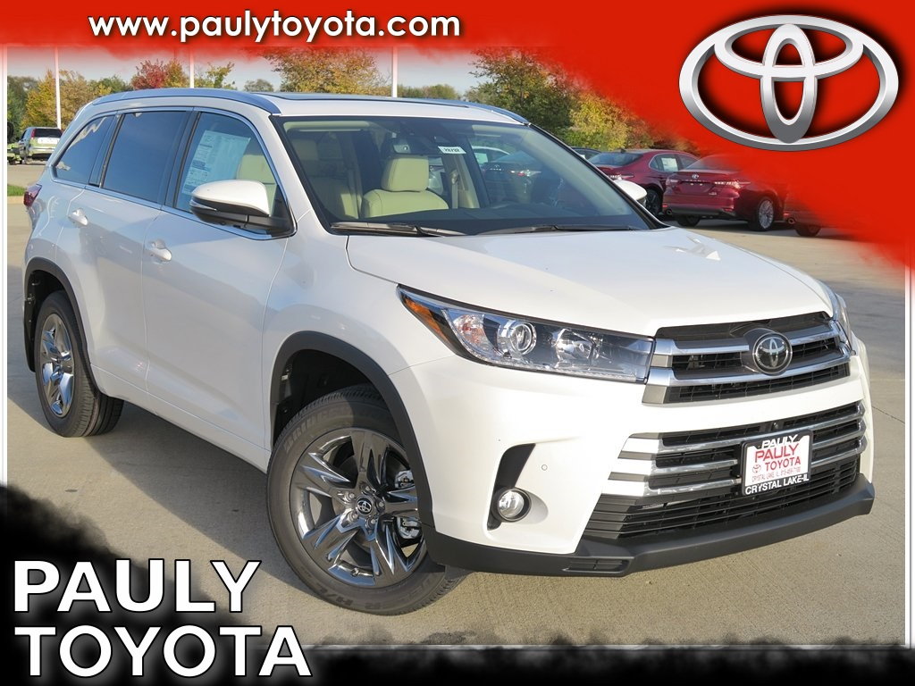 new 2018 toyota highlander limited platinum 4d sport utility in crystal lake 28732 pauly toyota. Black Bedroom Furniture Sets. Home Design Ideas