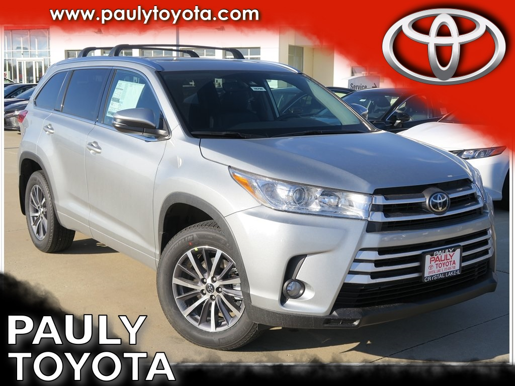 new 2018 toyota highlander xle 4d sport utility in crystal. Black Bedroom Furniture Sets. Home Design Ideas