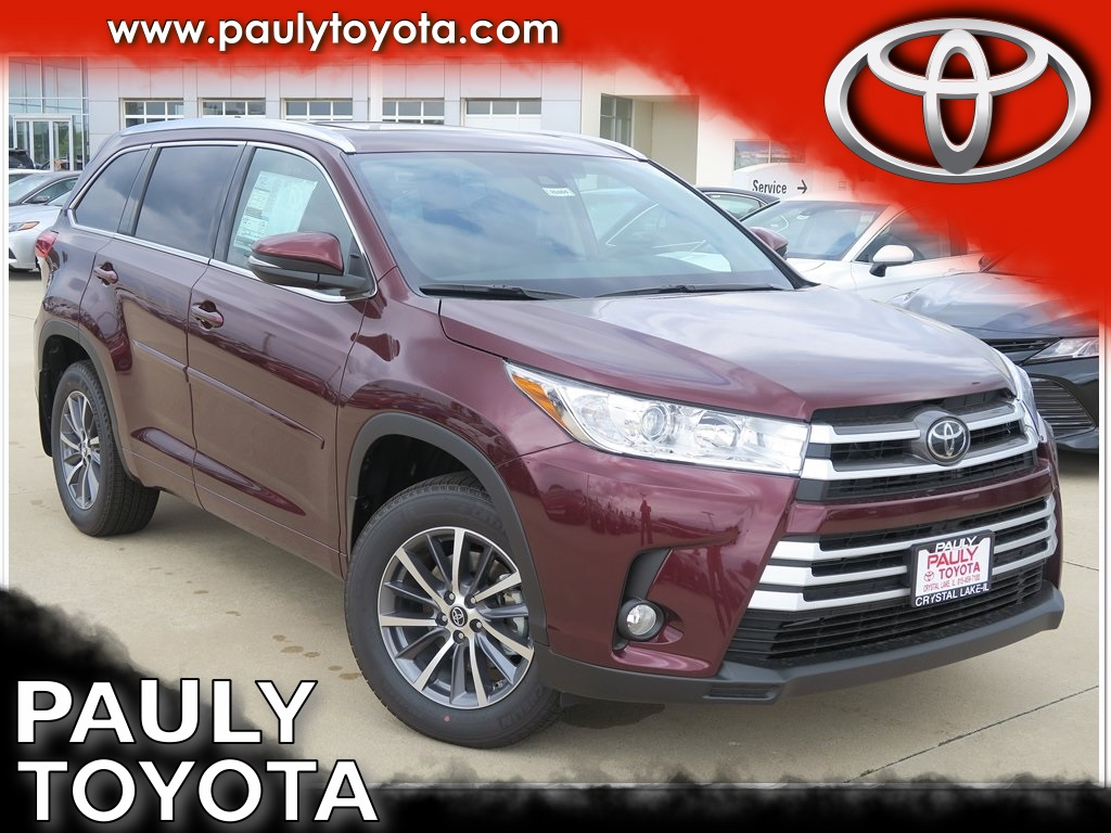 New 2018 Toyota Highlander Xle 4d Sport Utility In Crystal Lake Low Tire Pressure Warning Light