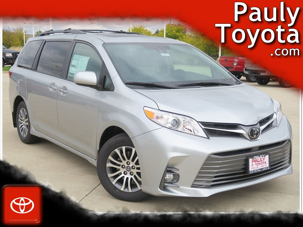 new 2020 toyota sienna xle premium 4d passenger van in crystal lake 32442 pauly toyota pauly toyota