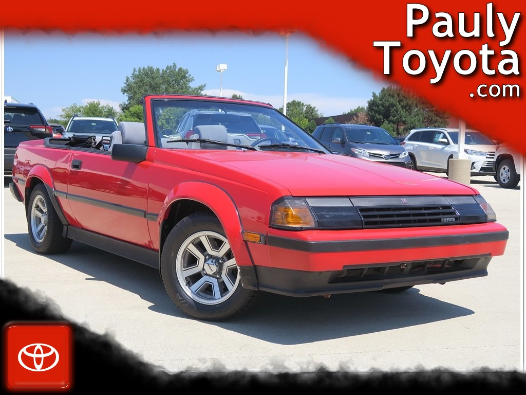 Pre-Owned 1985 Toyota Celica GT-S