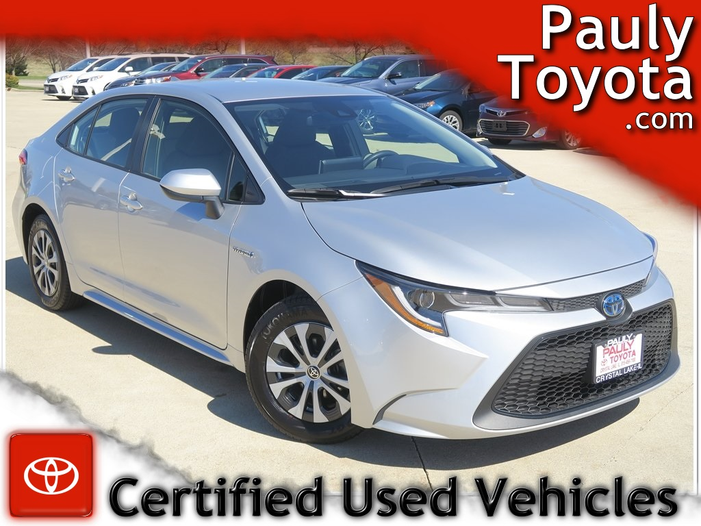 Certified Pre-Owned 2020 Toyota Corolla Hybrid LE