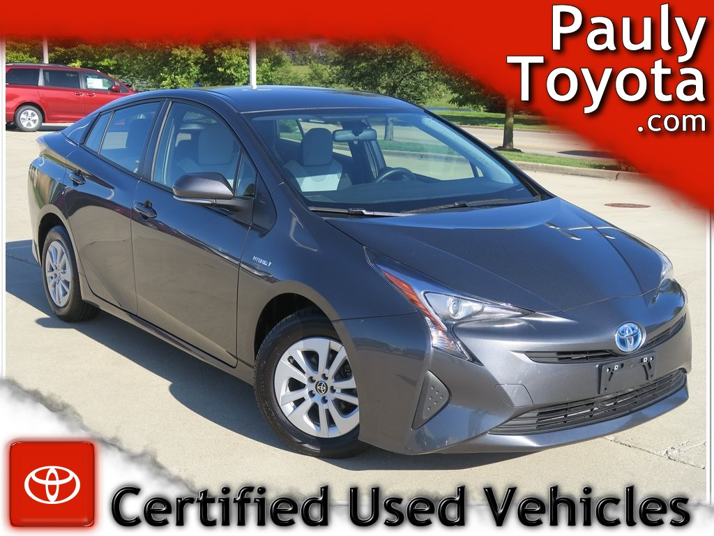 Certified Pre-Owned 2016 Toyota Prius Two