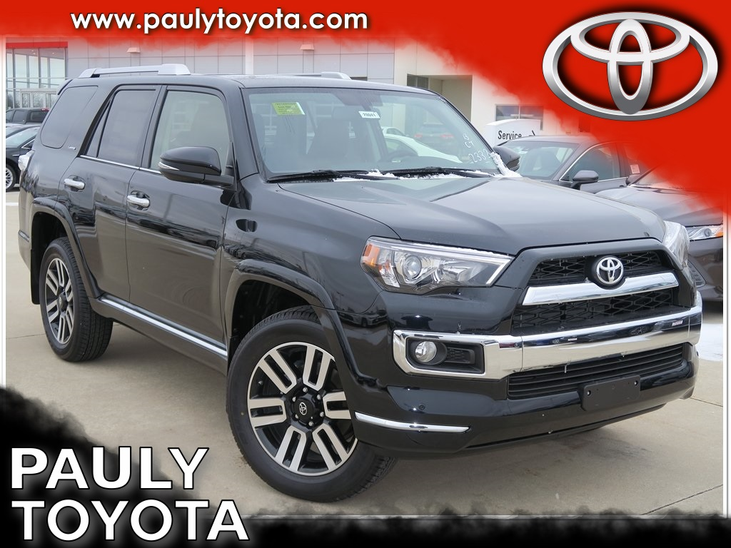 New 2018 Toyota 4runner Limited 4d Sport Utility In