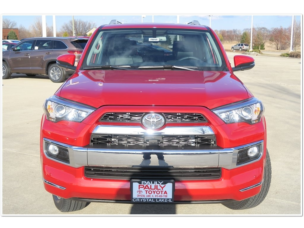 New 2018 Toyota 4runner Limited 4d Sport Utility In Crystal Lake 2000 Interior Light