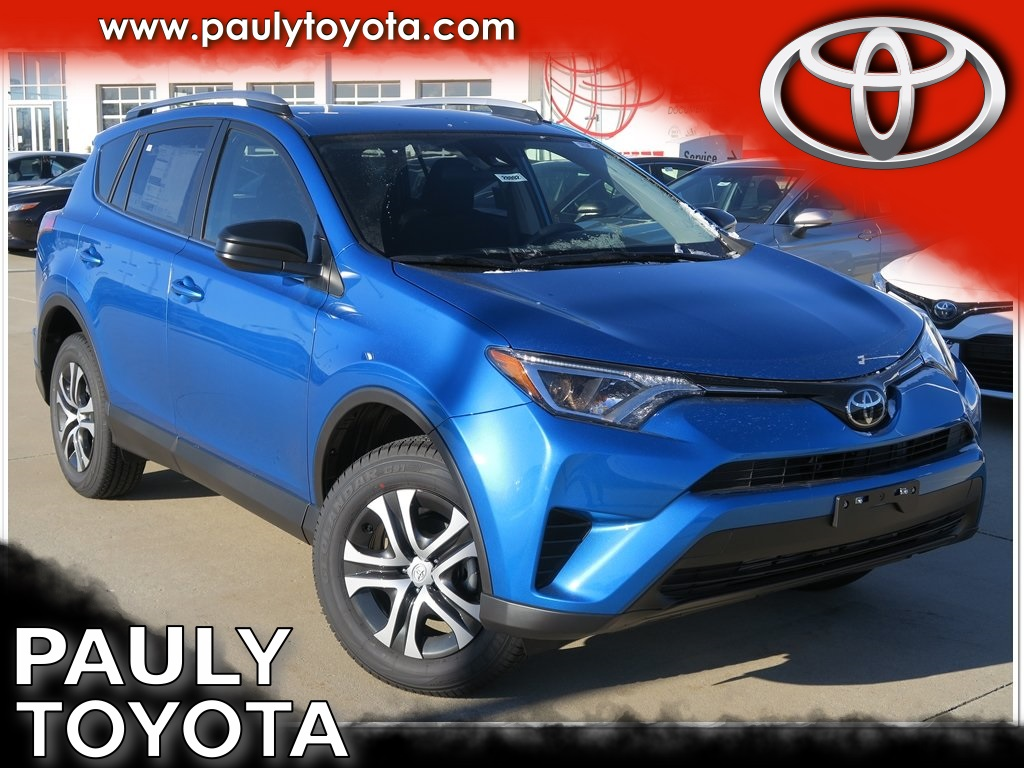 New 2018 Toyota Rav4 Le 4d Sport Utility In Crystal Lake