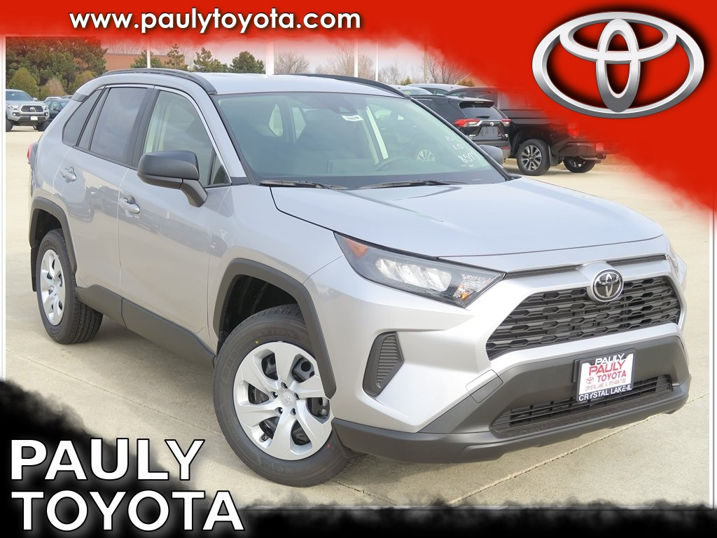 New 2019 Toyota Rav4 Le 4d Sport Utility In Crystal Lake 30979