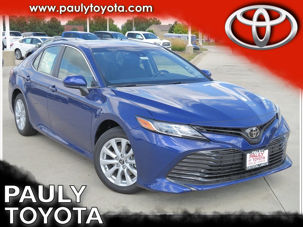 New 2018 Toyota Camry Le 4d Sedan In Crystal Lake Ca28490