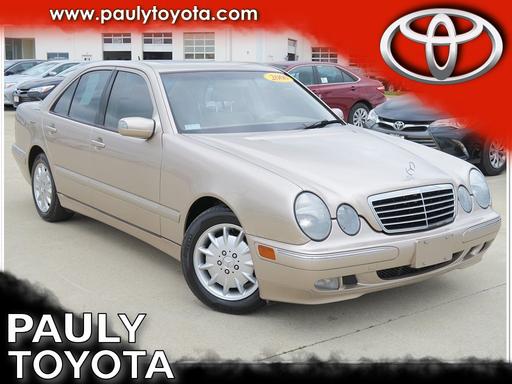 Pre owned 2000 mercedes benz e class e320 4d sedan in for 2000 mercedes benz e class e320
