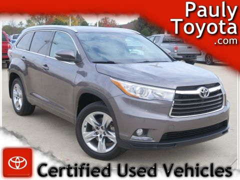 Certified Pre-Owned 2014 Toyota Highlander Limited